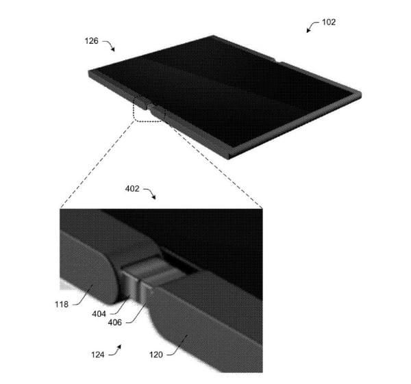 可折叠Surface手机?微软专利显示手机可变成平板电脑的照片 - 4