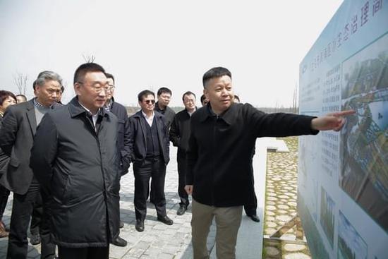 陈雷率组检查太湖流域防汛抗旱防台风准备情况