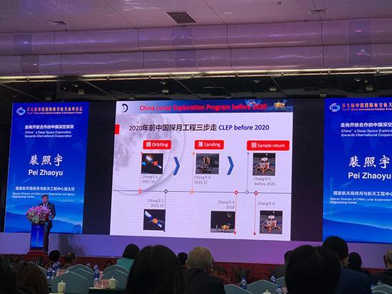 中国深空探测路线图:2020年实施首次火星探测任务