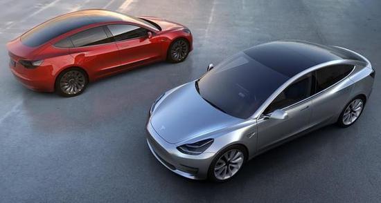 特斯拉Model3将在2018年才会与我们相见