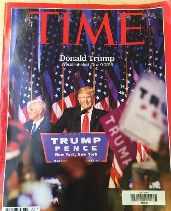 小米MIX登上《时代周刊》:还是在特朗普当选这期的照片 - 3