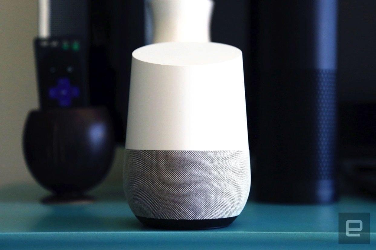 谷歌智能音箱可打电话了!支持多用户