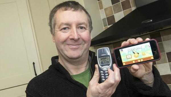 英国老兵晒诺基亚神机3310:服役17年不死的照片 - 1