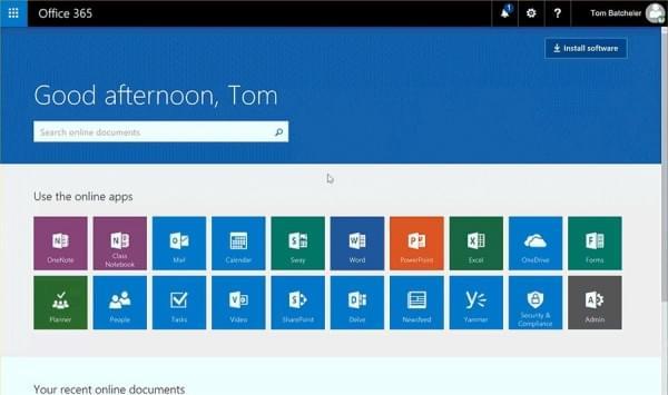 Office 365启用新版App Launcher:可调尺寸、钉选和布局等的照片 - 1