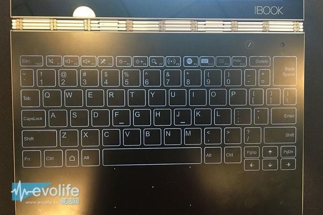 压感键盘 联想发布Yoga Book二合一笔记本