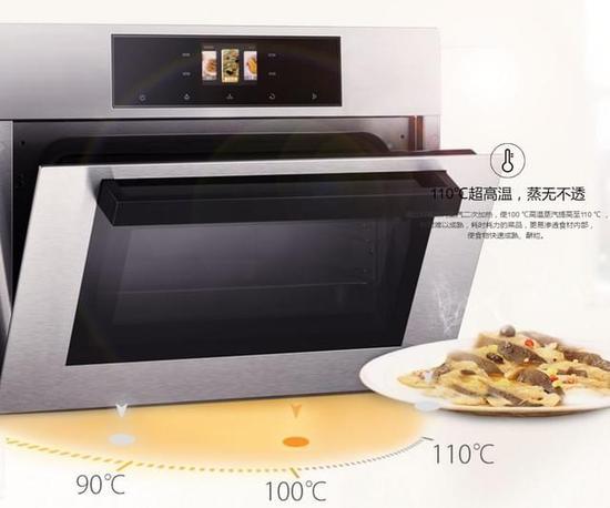另一方面还能保证箱内温度波动更小更精准,相当于电蒸箱中的变频机!