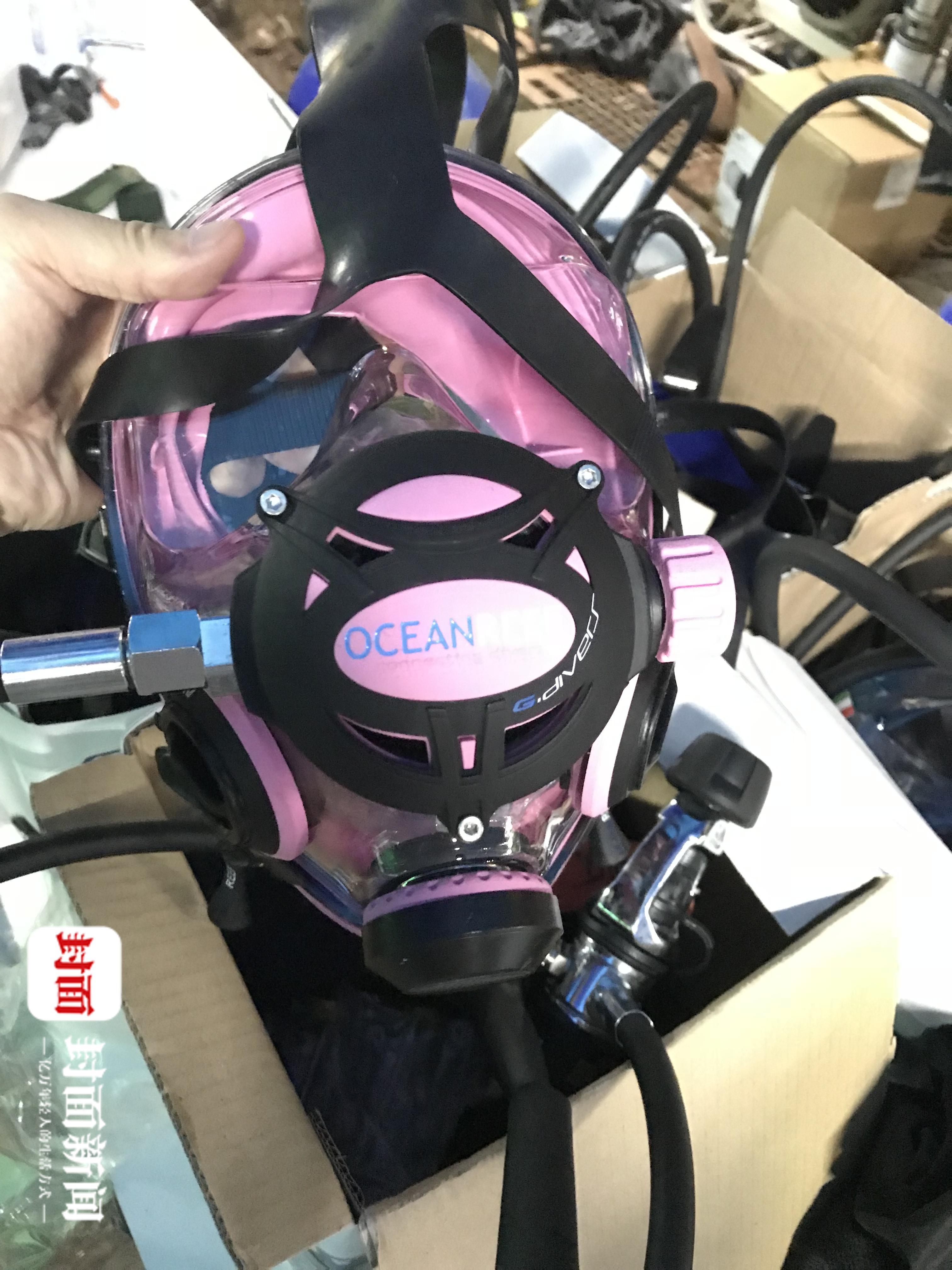 泰国被困足球队所用小号氧气面罩 今日将送抵洞中