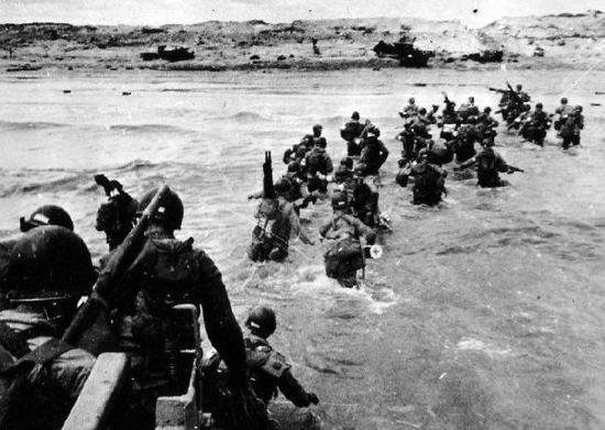美军史上十场最激烈战斗:诺曼底登陆伤亡最惨重