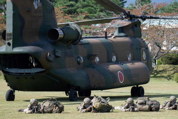 日媒:自卫队与英澳等国加强军事合作 以牵制中国