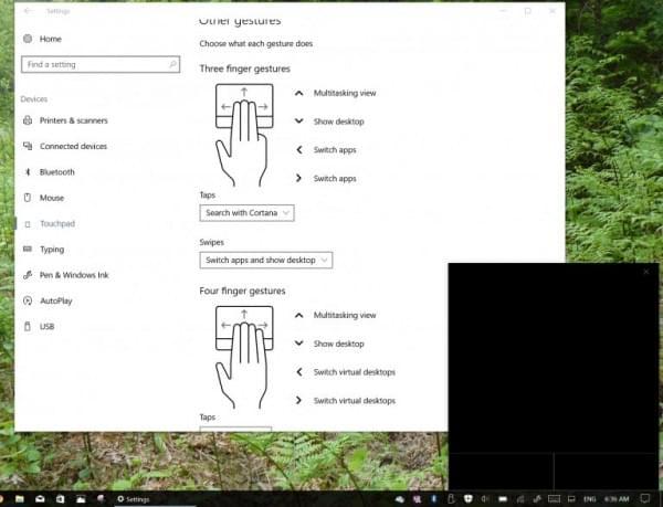 """Windows 10""""创造者""""更新将提供虚拟触摸板的照片"""