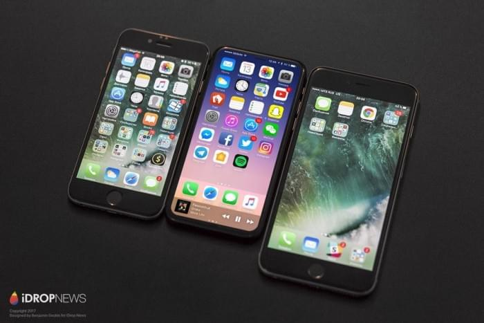 基于真实设计图的iPhone 8渲染图:屏占比可和S8一较高下的照片 - 4