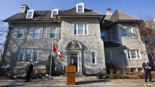 """加拿大总理官邸已成""""老鼠乐园"""" 急需4.4亿元修缮"""