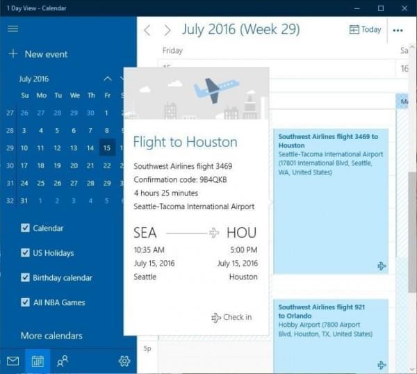 Win10邮件和日历应用迎重大更新:Focused Inbox功能上线的照片 - 5
