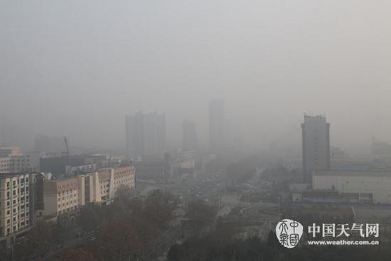 霾笼罩京津冀等【9】省市 今夜至明最严重