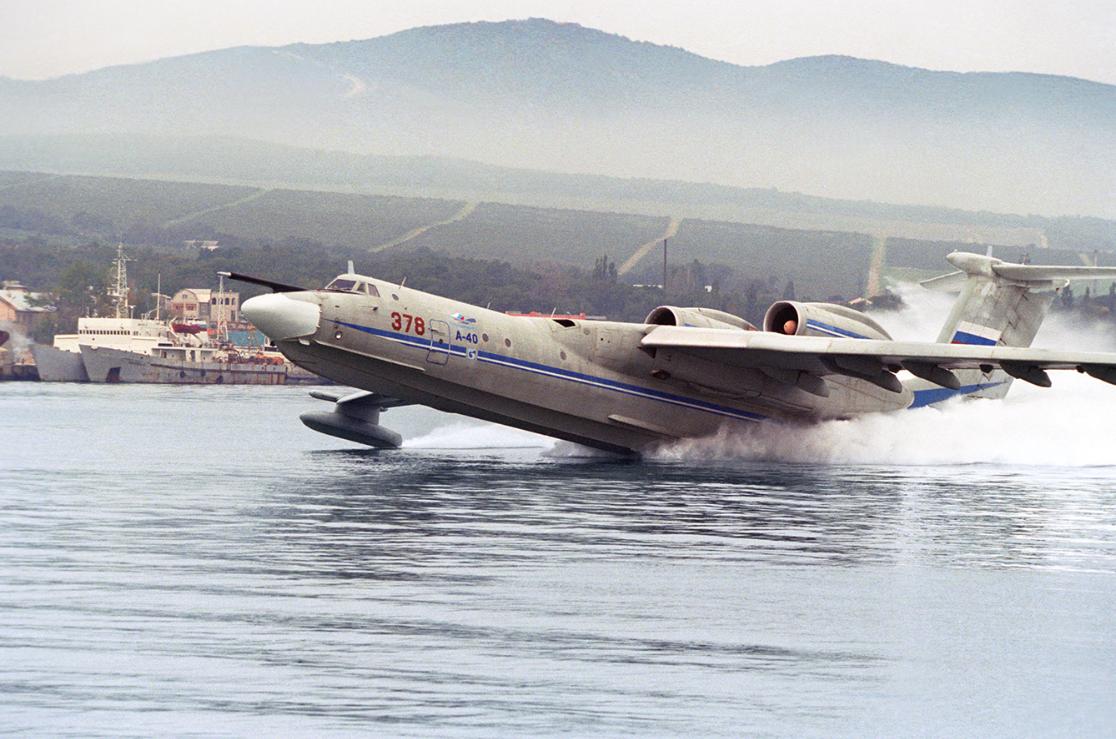 世界最大水上飛機將復活:能攜6.5噸重反潛武器