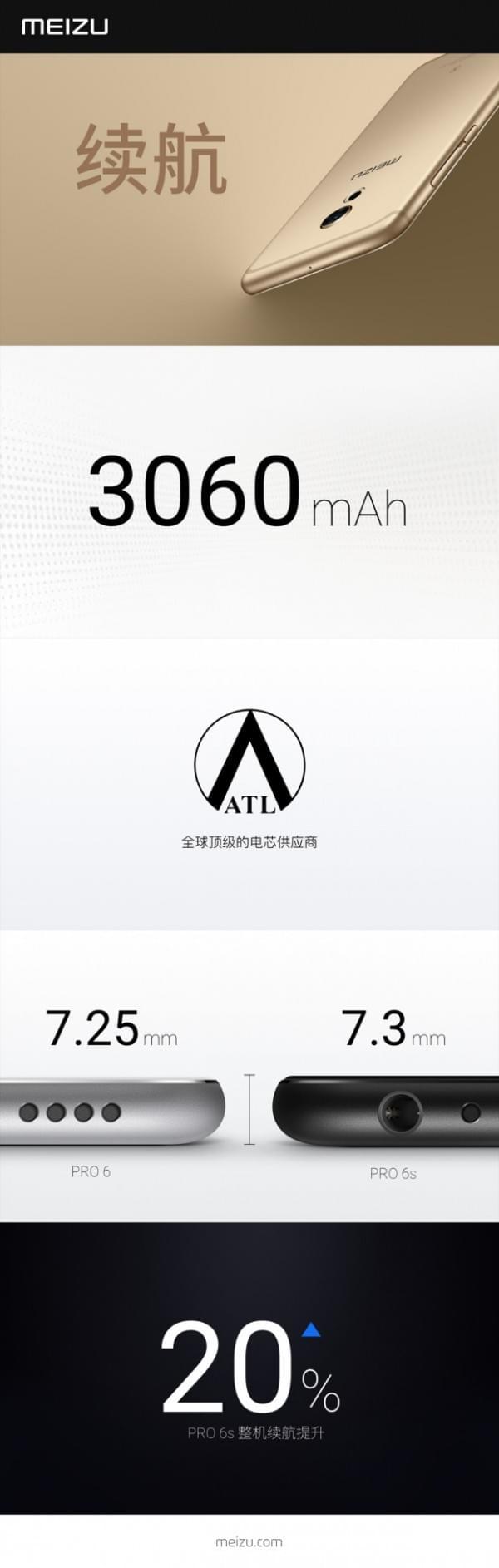 魅族发布PRO 6s 首次搭载光学防抖功能 售价2699元的照片 - 2