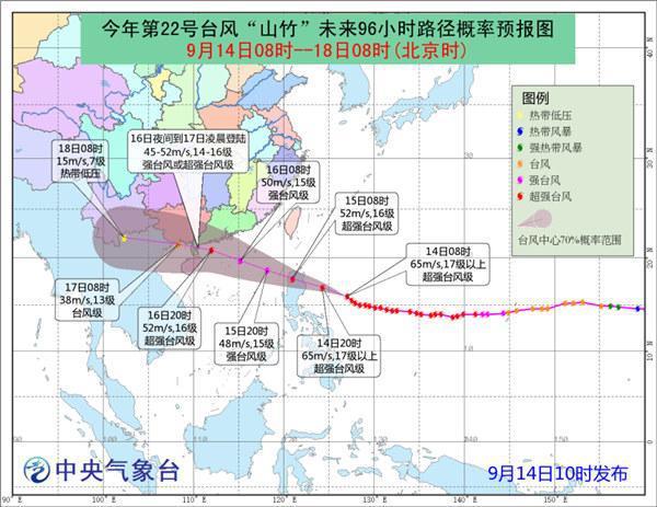 """超强台风""""山竹""""到底有多""""强""""?官方解析"""