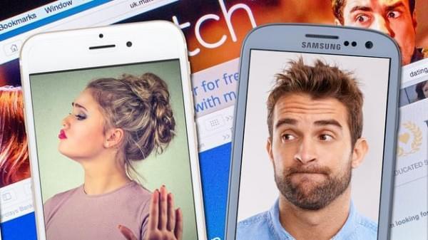 相亲网站调查显示:iPhone用户不愿意和Android用户约会的照片