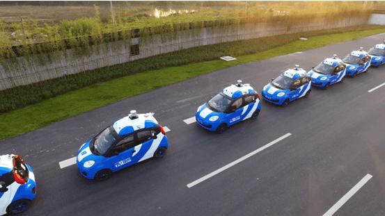 百度无人车在乌镇开展 国内首次开放城市道路运营的照片 - 1