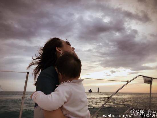 章子怡和女儿
