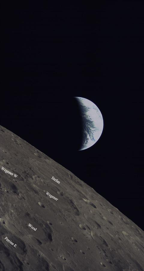 最新地月合影!龙江二号载沙特相机从月球背面传图