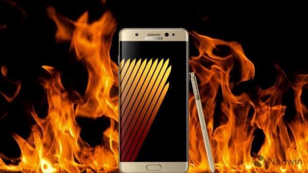 三星对新一起Galaxy Note7 爆炸案保持沉默的照片