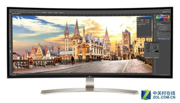 21:9超宽屏新纪录 LG推出38吋曲面巨幕