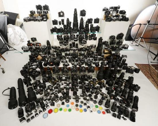 见识何为铁粉 摄影师尼康器材总价超八十万元的照片 - 1