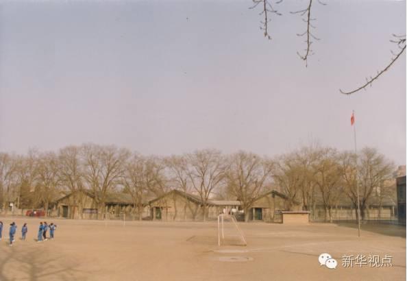 当年小学部的教室(八一学校供图)