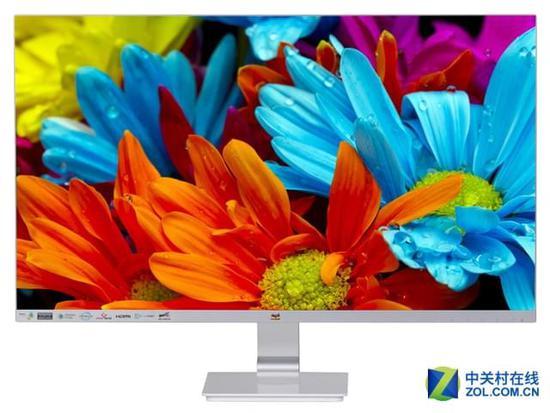 三边无边框设计 优派 vx2778显示器特惠