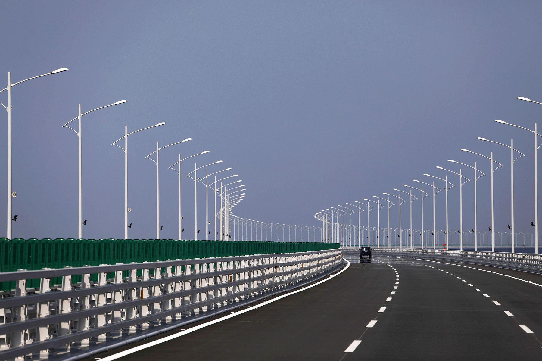 中国斥资千亿元建大桥 寻求打造大湾区与硅谷竞争