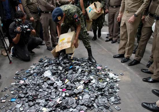 中国禁止洋垃圾后 美国垃圾涌向泰国哆到爆仓