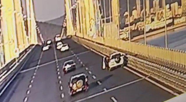 男子清晨车停跨海大桥再无音讯 车里发现一纸遗书