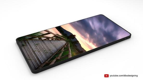 LG G7概念新机:前后双摄+屏下指纹识别