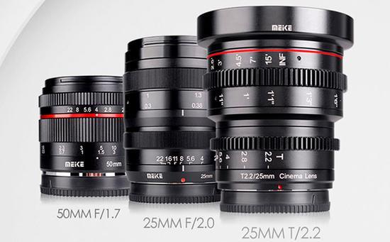 美科发布三款APS-C画幅无反镜头
