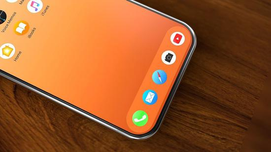 屏下摄像头iPhone渲染图曝光:是这样一定买!