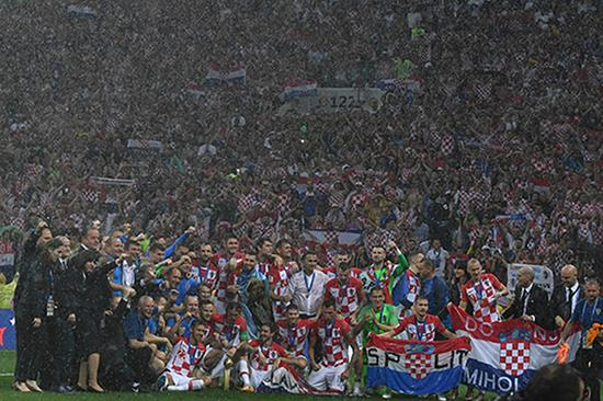 特朗普:祝贺法国队赢得世界杯 也祝贺普京和俄罗斯