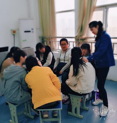减压李争争导师亲授高中生《心理参加高中课》公益鄂州所有图片