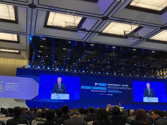 世界互联网大会 马化腾、高通总裁谈5G改变未来