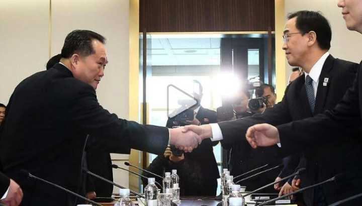 外媒透露朝韩会谈细节:开场尴尬 从闲聊天气开始