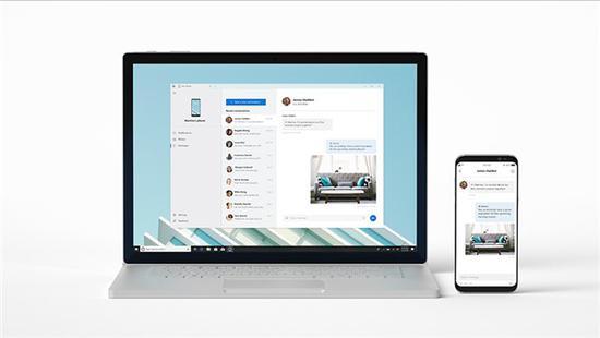 """微软""""你的手机""""应用:iMessage同步尚待合作"""