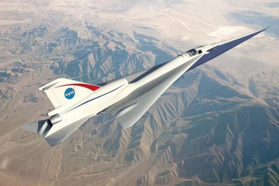 NASA全资打造静音超音速飞机,未来或用于商业飞行