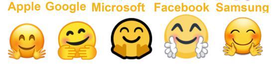 设计总监告诉你为何不同平台表情符号不同