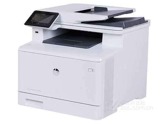 支持自动双面 HP M477fdw广东6770元