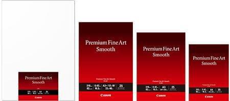 佳能推出适合高端艺术输出的专业平滑艺术纸FA-SM1