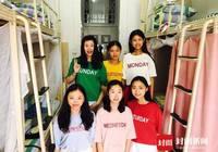 南充高校有间学霸寝室 6个女生有颜值更有才华