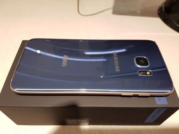 珊瑚蓝版Galaxy S7 edge开箱的照片 - 7