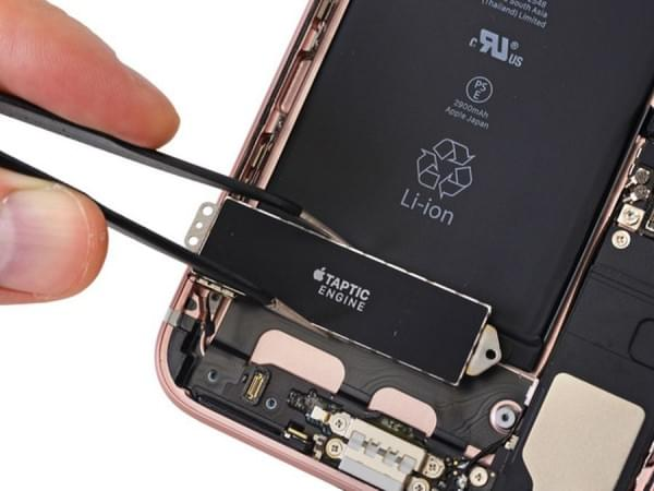 iPhone 7 Plus拆解:2900mAh容量电池的照片 - 15