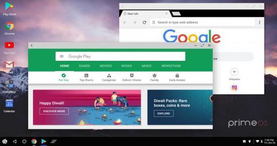 PrimeOS公测:笔记本上运行Android应用和游戏