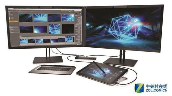 惠普发便携工作站 商用AR/VR还要靠桌面